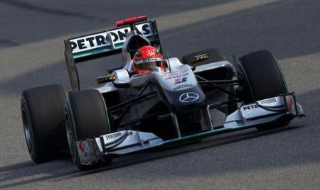 Michael Schumacher tendrá un chasis nuevo para el Gran Premio de España