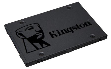 SSD Kingston A400, con 480GB de capacidad, a su precio mínimo en Amazon: 72 euros y envío gratis