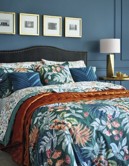 Textiles florales El Corte Inglés