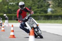 Honda EV-Neo, la prueba (conducción en parque cerrado)