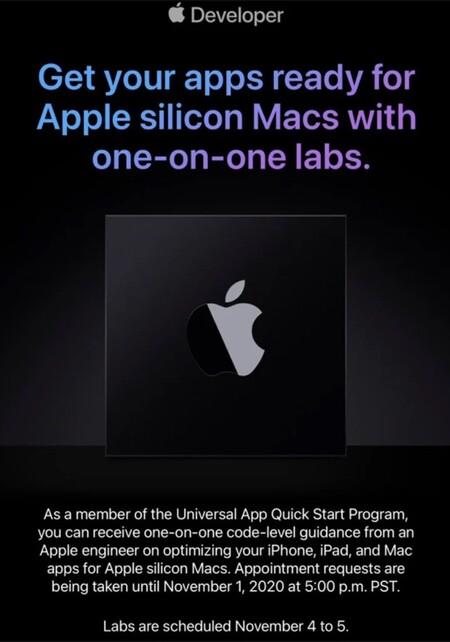 Apple Silicon Desarrolladores