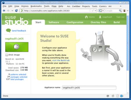 SUSE Studio a fondo: crea tu distro a medida, y pruébala