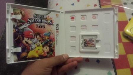 Cartucho de Smash Bros. 3DS