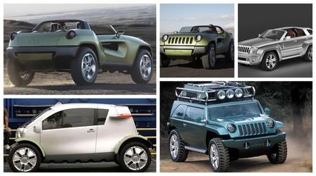 Estos 5 conceptos de Jeep demuestran que su característico diseño ha tenido divertidas variaciones