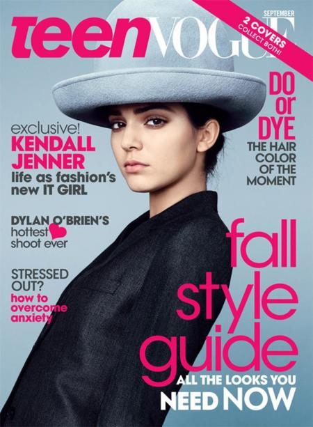 Kendall Jenner portada de Teen Vogue. El clan Kardashian sigue conquistando Condé Nast
