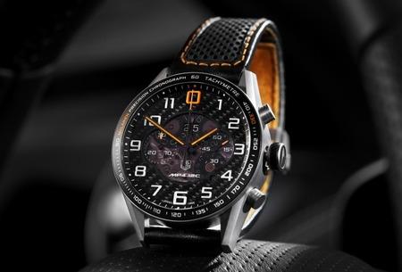 Accesorios McLaren, reloj deportivo Tag Heuer