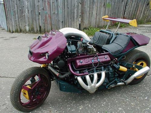 Foto de Ghost Rider a la rusa (7/10)