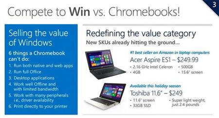 Windows vs Chromebooks