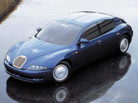 De cuando Bugatti quería fabricar sedanes de lujo otra vez, recordando a: Bugatti EB112
