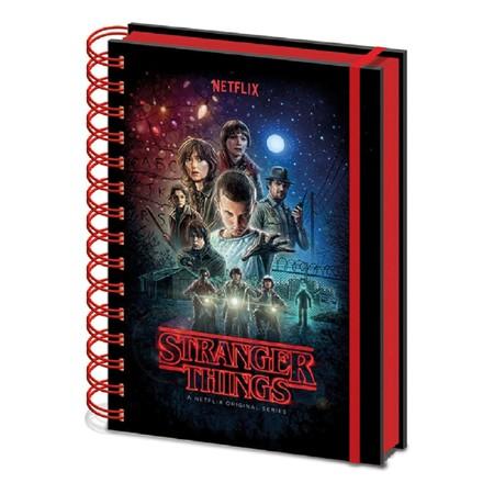 Cuaderno A5 Anillas Stranger Things St. Things