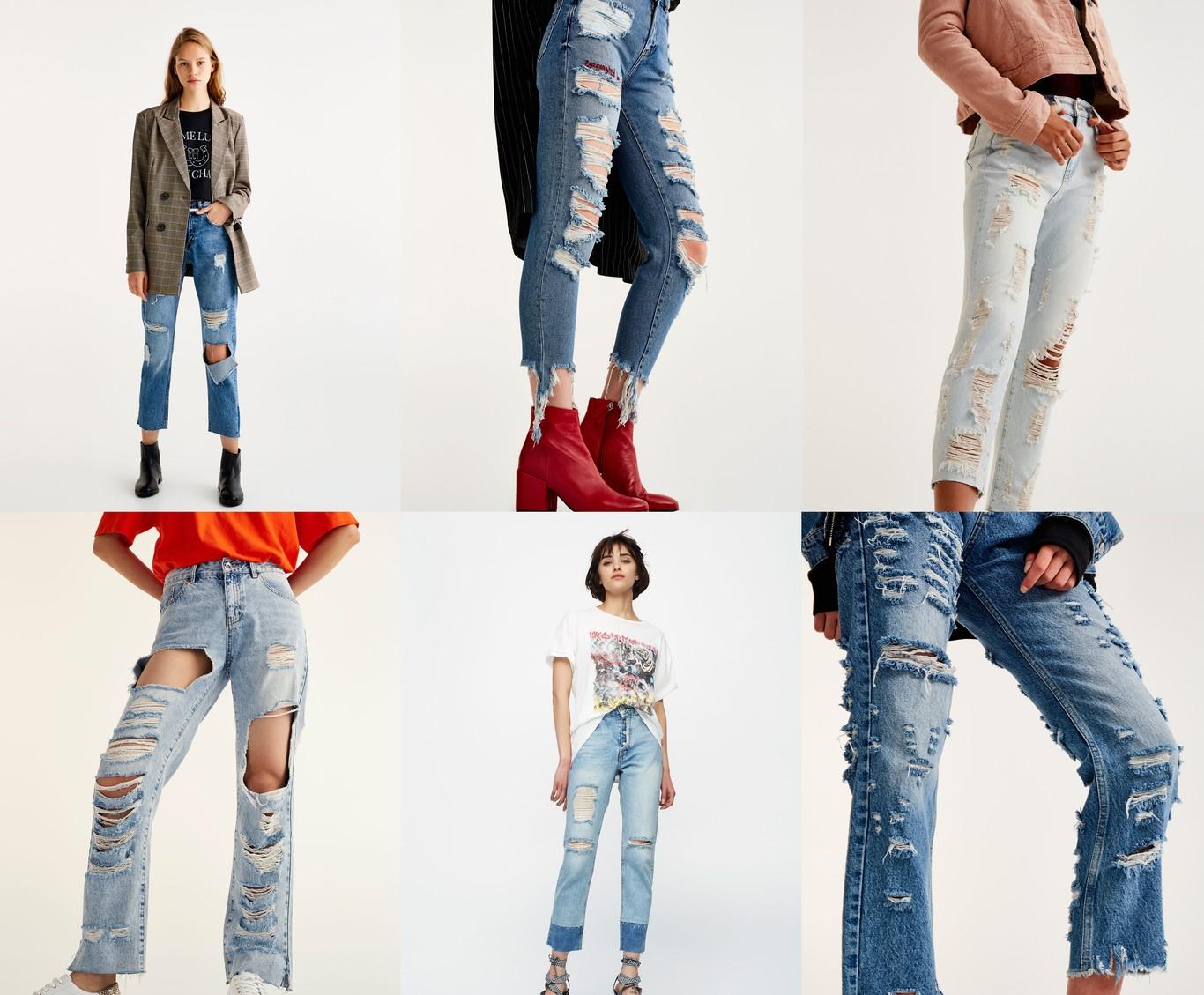 6 Jeans rotos de Pull&Bear rebajados al menos un 30% desde