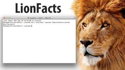Mac OS X Lion y su problema de seguridad con la contraseña de usuario