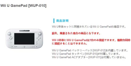 En Japón Nintendo ya vende el Gamepad del Wii U por separado