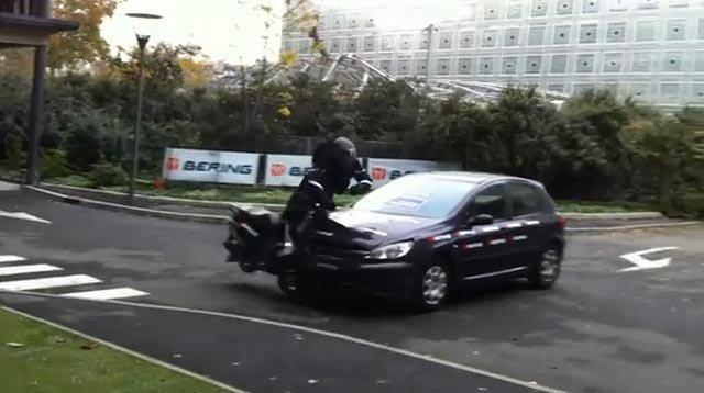 Demostración en vivo del Airbag Moto de Bering