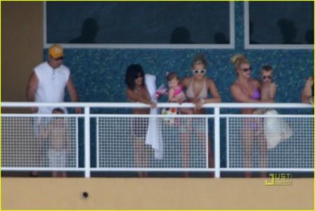 Las hermanas Spears de vacaciones juntas