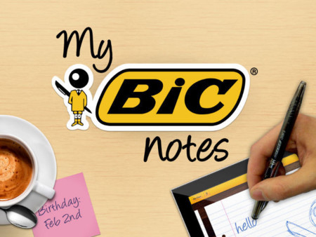 My bic notes