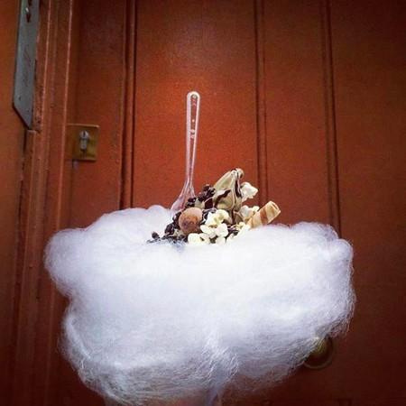 TrendInFood: helados en nubes de algodón de azúcar