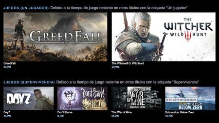 Para sorpresa de nadie, el sistema de recomendaciones de Steam ya ha empezado a generar controversia