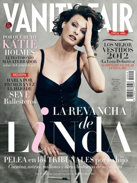 Linda Evangelista Vanity Fair