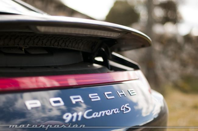 Porsche 911 Carrera 4S prueba trasera