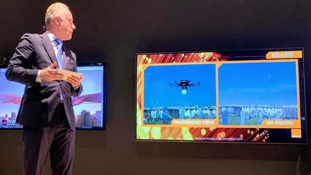 Vuelo dron en tiempo real con 5G Orange