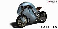 Agility Saietta ¿Serán así las motos del futuro?
