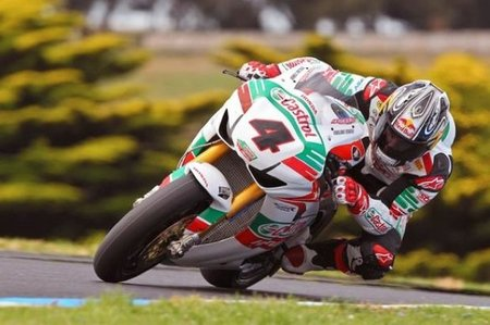 Los pilotos del Castrol Honda satisfechos en Phillip Island