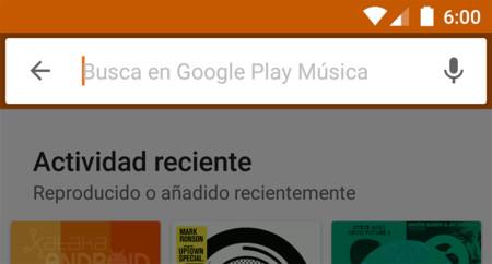 Google Play Music para Android estrena la búsqueda por voz