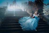Scarlett Johansson convertida en Cenicienta