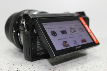 Sony NEX-5T pantalla