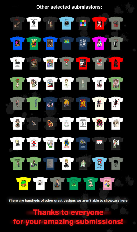 Game T Shirt Contest 01
