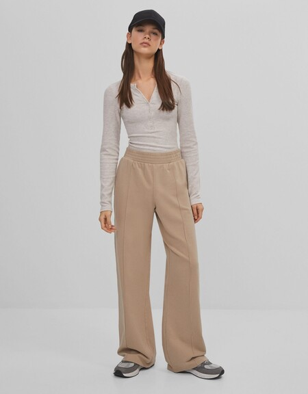 Pantalon De Chandal Wide Leg