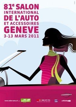 Cartel del Salon de Ginebra