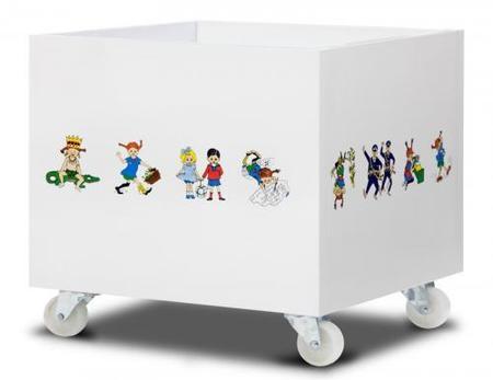 Cajas para guardar los juguetes