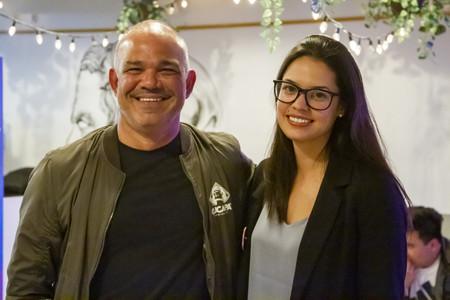 Mario García, fundador de Cucapá Brewing & Co. y Mariana Tostado, Head Brewer de Cerveza Cucapá.