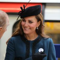 Kate Middleton Whiteley sombrero look