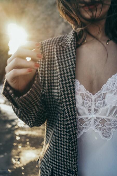 Blazer Vestido Lencero
