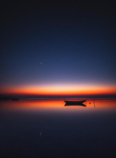 Midnight Glow Over Limfjord R Ruslan Merzlyakov