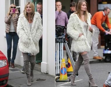¿Usa Kate Moss una doble para sus campañas?