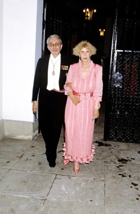 En la boda de su hijo Carlos Martínez de Irujo