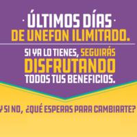 Es oficial: Unefon Ilimitado terminará el 31 de diciembre, esto pasará con los actuales usuarios del servicio en México
