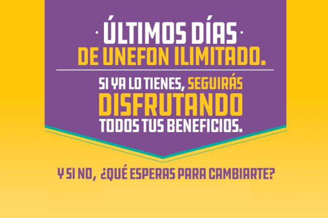 3ebc581566e Es oficial: Unefon Ilimitado terminará el 31 de diciembre, esto pasará con  los actuales usuarios del servicio en México
