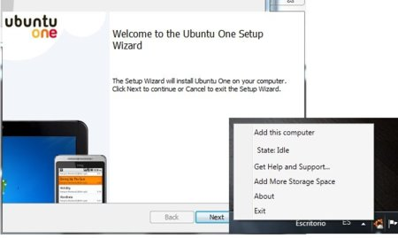 Probamos la beta de Ubuntu One para Windows