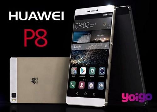 Huawei P8, ya se conocen sus precios con Yoigo