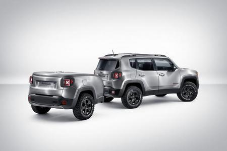 Jeep Renegade Hard Steel: te ha salido un remolque muy molón