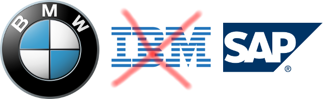 BMW IBM SAP