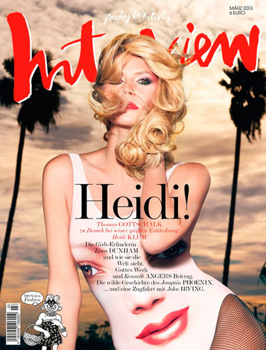 Pues sí, detrás de todo ese pelo está Heidi Klum