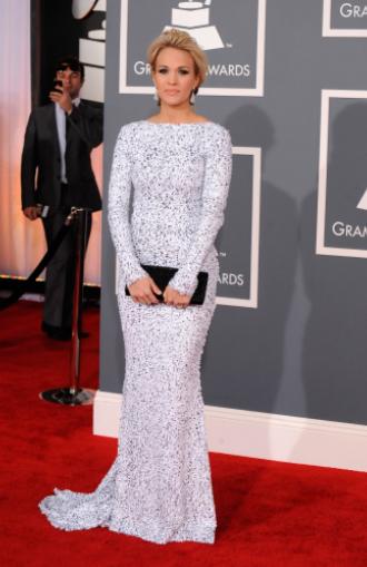 Carrie Underwood Grammys 2012
