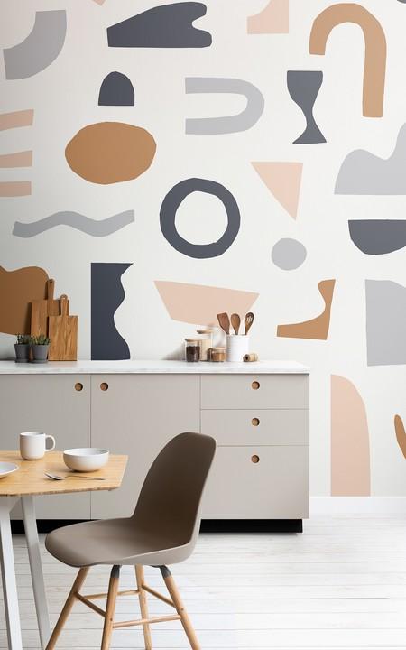 Papeles pintados abstractos
