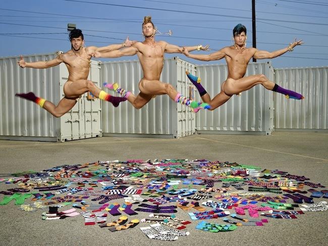 Foto de Happy Socks campaña con David LaChapelle (5/9)